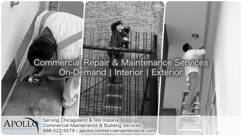 commercial repair and maintenance services on-demand interior | exterior